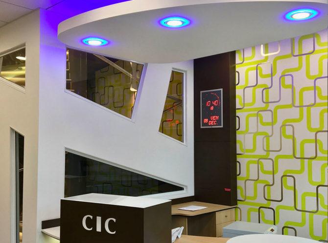 accueil banque CIC Confluence