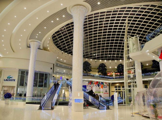 Réalisations savoir-faire staff et plafonds - Centre commercial