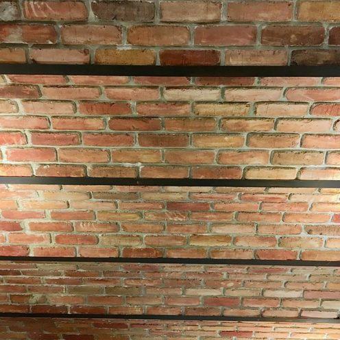 texture en staff briques