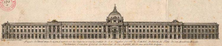 Archive de l'Hôtel-Dieu à Lyon, une restructuration à laquelle la maison rouveure maruqez a prit part