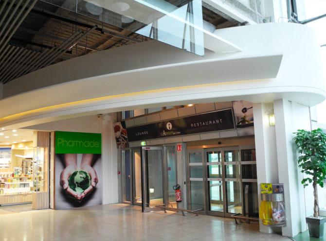 Aéroport de Saint-Exupéry : pose de plafonds mono acoustic