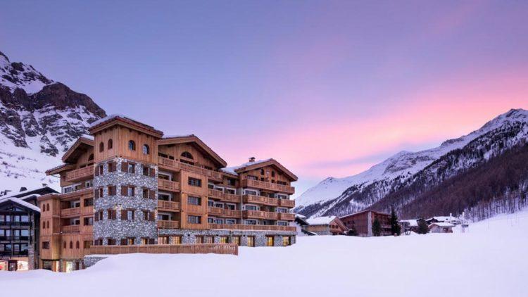 Hotel Mademoiselle à Val d'Isère, une rénovation avec la maison Rouveure Marquez