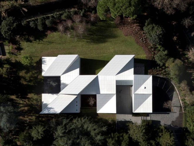 AA House architecture origami