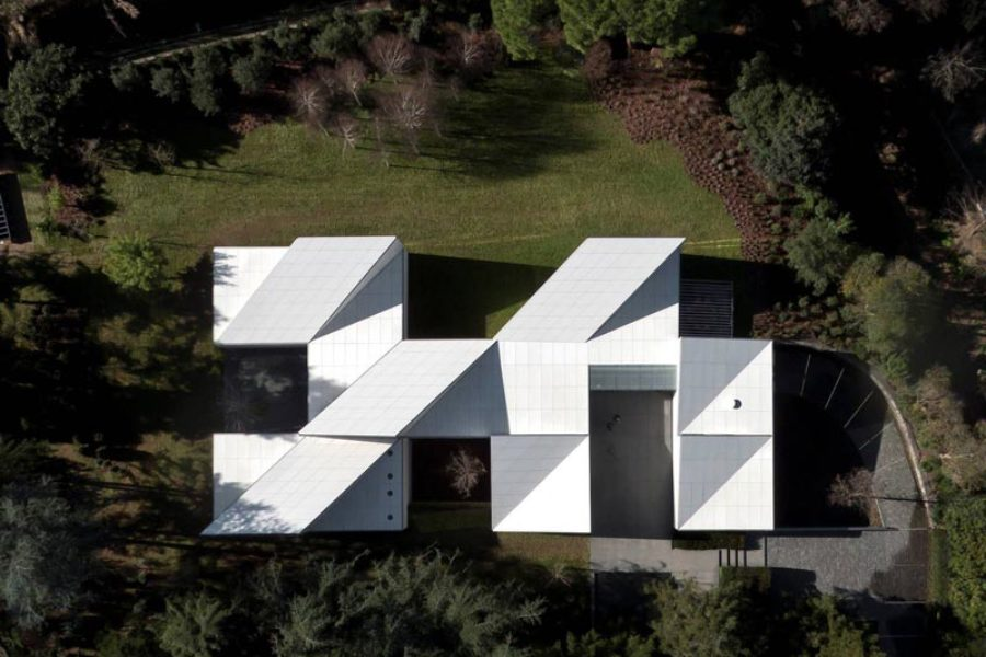 Six architectural origami projects