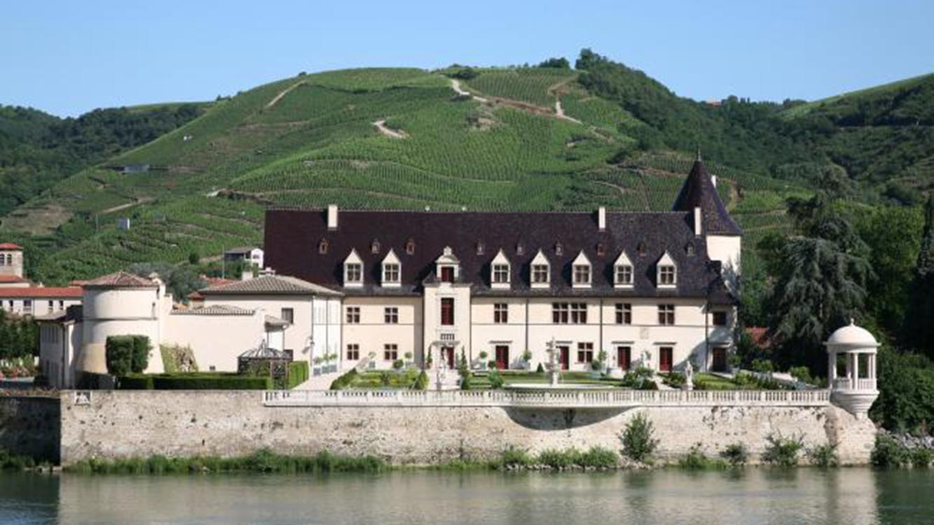 Chateau d'Ampuis de la Maison Guigal