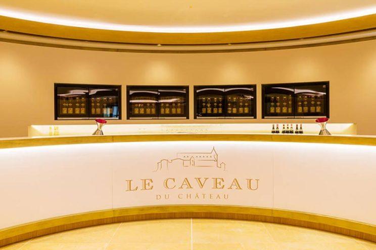 la boutique dégustation du Caveau du Château Guigal par la Maison Rouveure Marquez