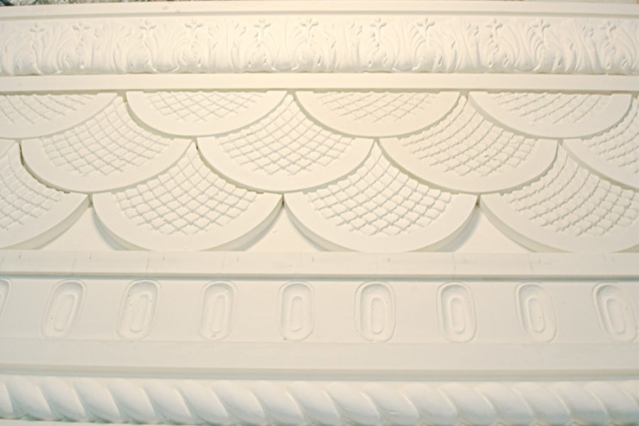 Fibrous plaster decorations no. 2 : wall friezes