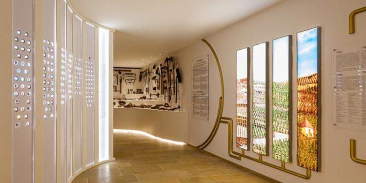Création d'une scénographie dans le Musée du Caveau par Rouveure Marquez