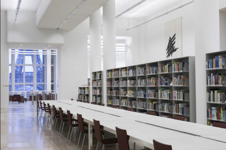 Bibliothèque de la Cité de l'architecture à Paris