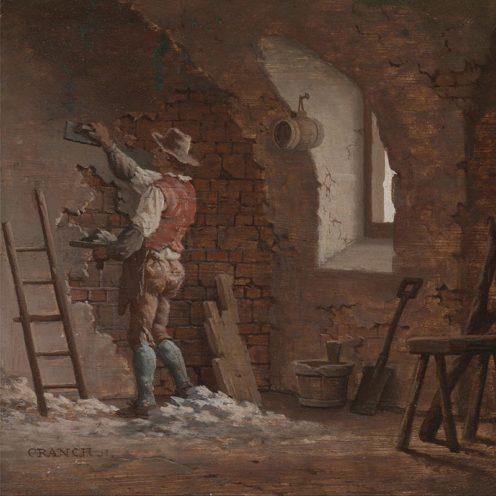 Le métier de plâtrier peint par John Cranch