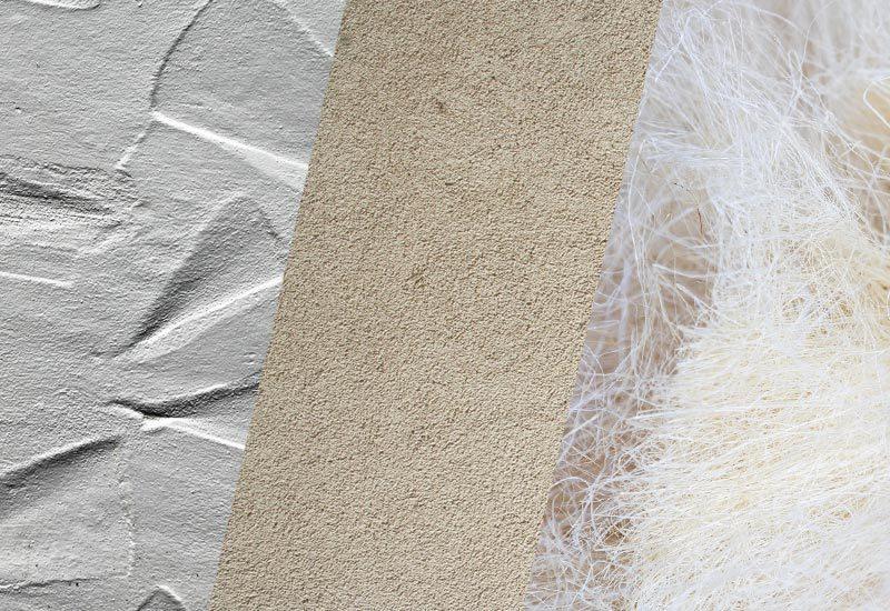Les différences entre staff, stuc et plâtre