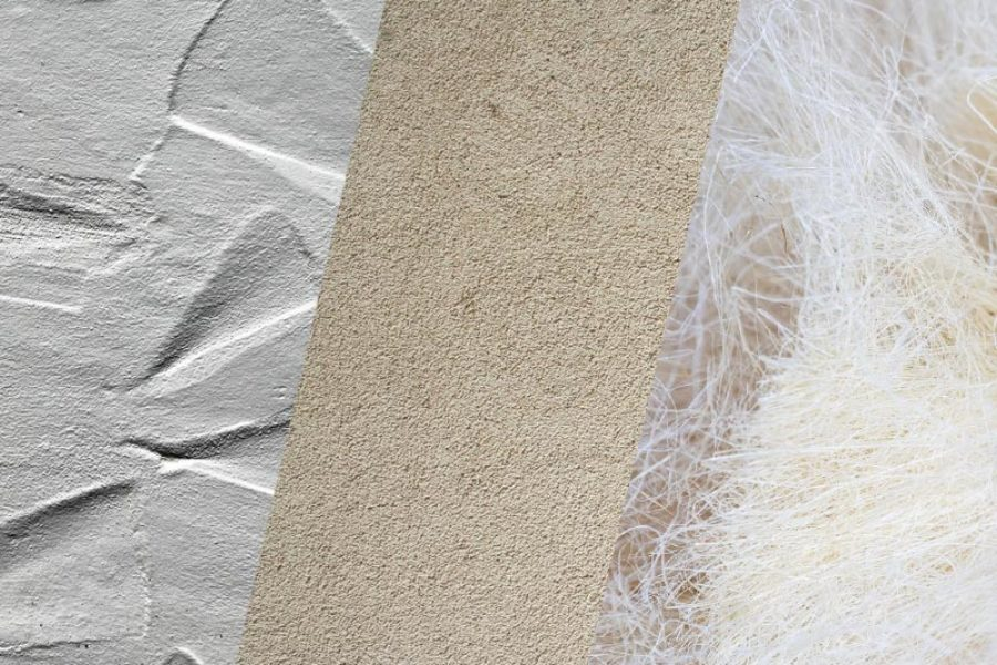 Differences between fibrous plaster, stucco and plaster