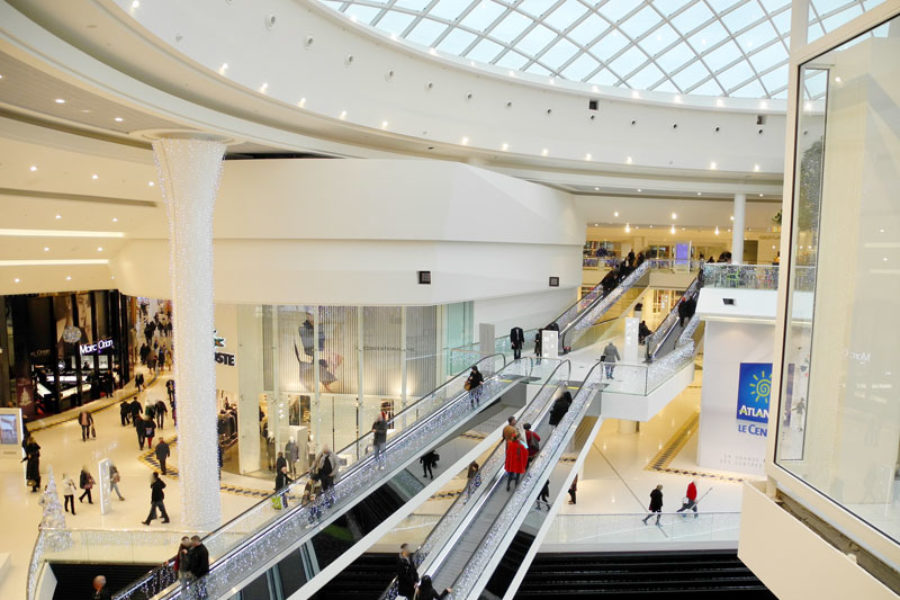 La rénovation en staff de galeries marchandes
