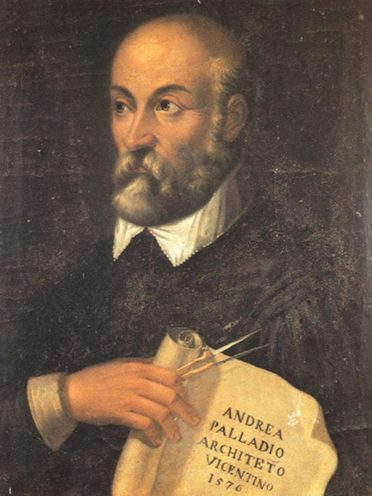 Architecte italien Andrea Palladio