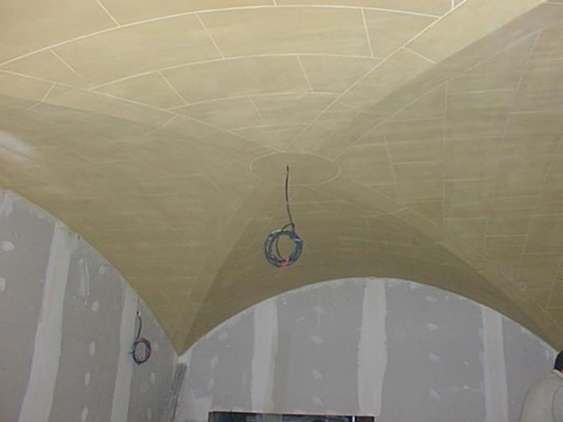 Plafond en voûte croisées d'ogives par Rouveure Marquez