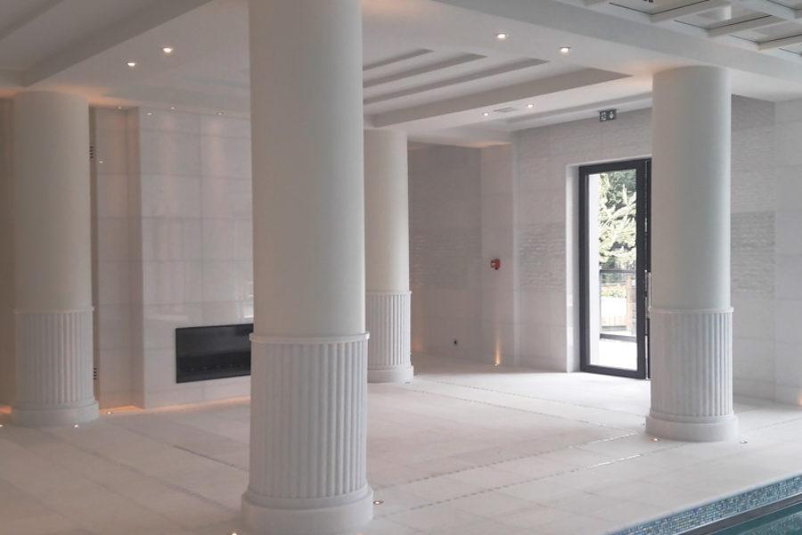 Columns in contemporary architecture