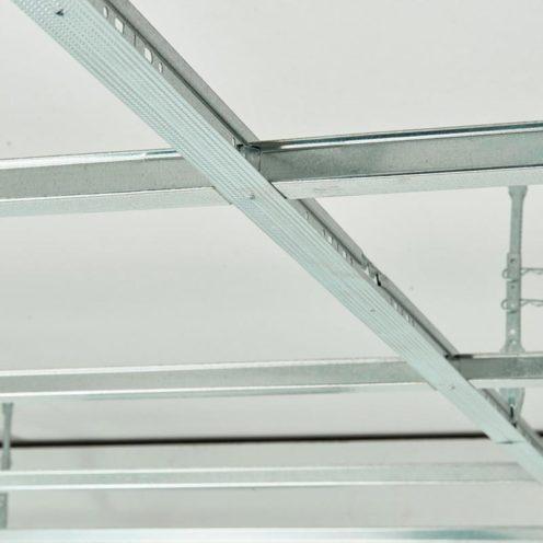 Osature en acier des plafonds RockFon Mono Acoutic par Rouveure Marquez