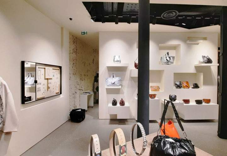 Agencement de la boutique Isabel Marant à Lille