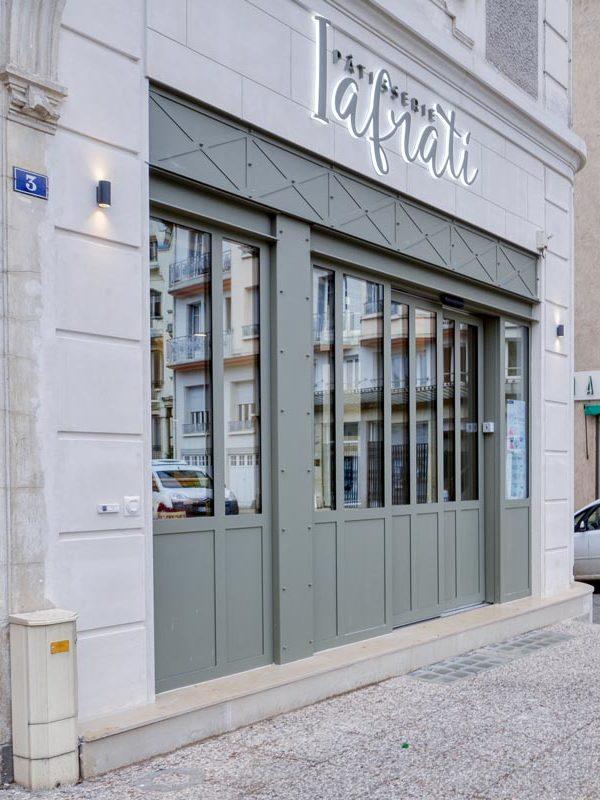 Après le chantier Iafrati, nouvelle facade en vieujot Rouveure Marquez