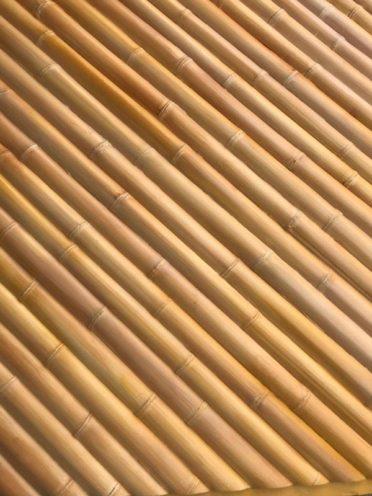 Projet en cours plafonds imitation bambou en staff par Rouveure Marquez