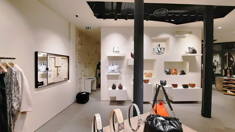Agencement de la boutique Isabel Marant à Lille