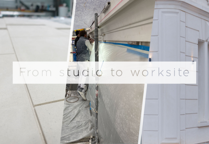 From studio to worksite