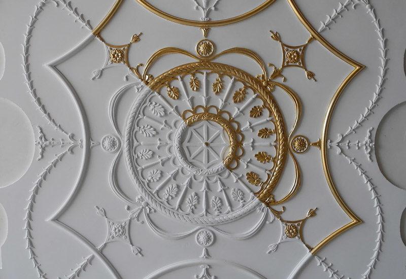 """Fibrous plaster, the new white gold"", according Elle Décoration"