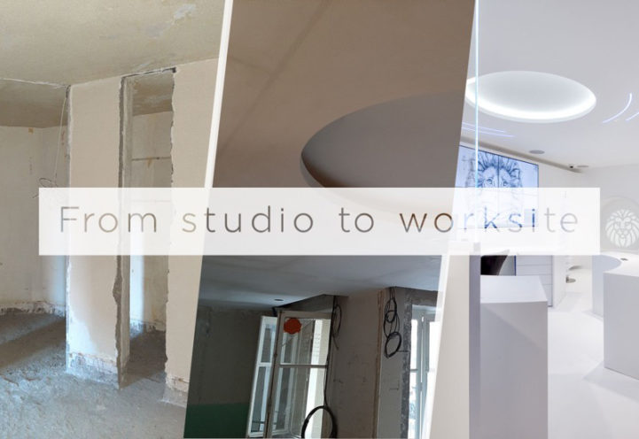 News - From studio to worksite : fibrous plaster interiors