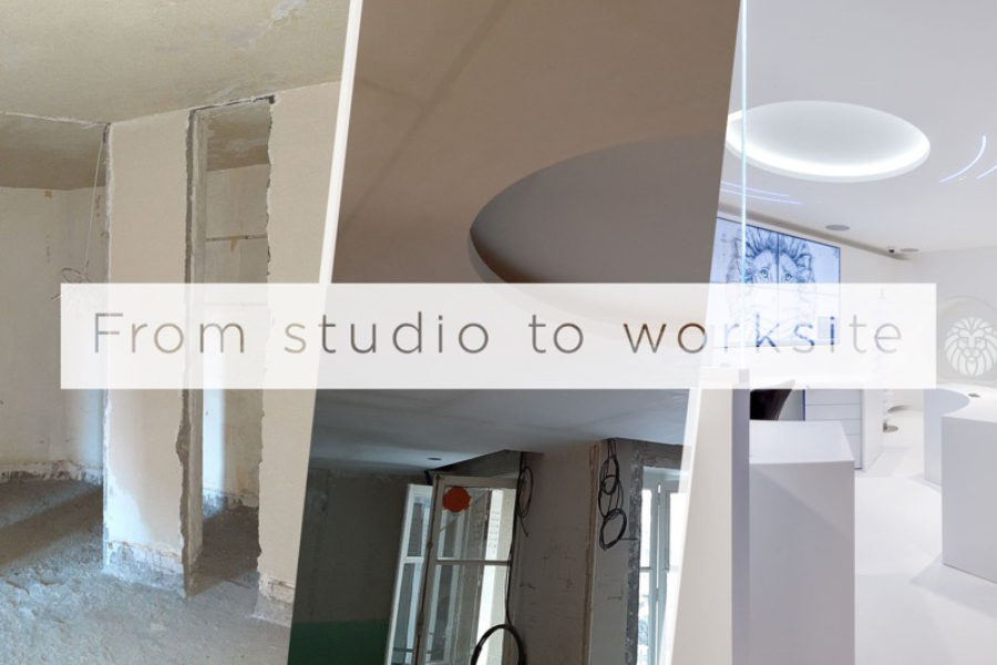 From studio to worksite: Artdenteck's fibrous plaster interiors