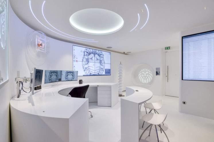 Zone accueil - bureau laboratoire Artdenteck
