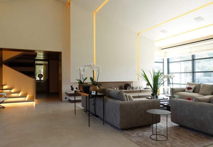 A la une - Design d'intérieur en staff pour une Villa à Gassin
