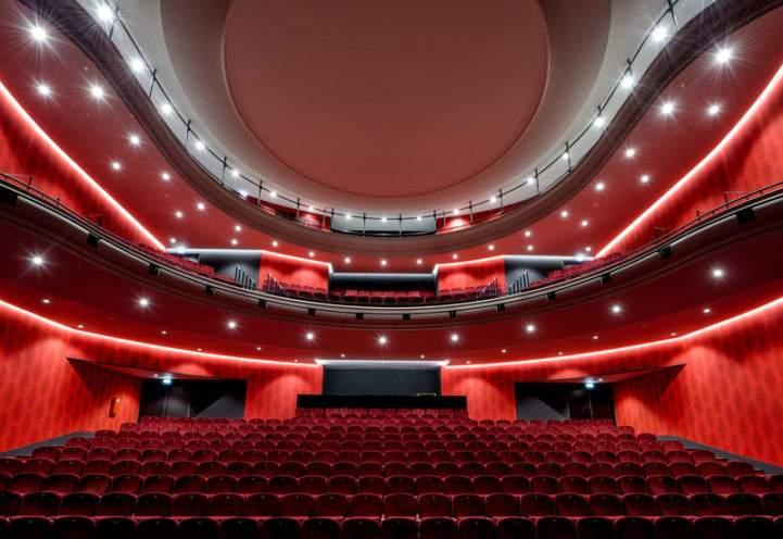 À la une - Plafonds et décors en staff au Théâtre de Montélimar