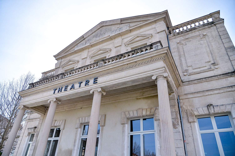 Extérieur du Théâtre de Montélimar