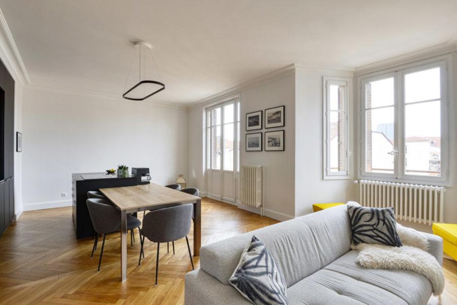 Appartement bourgeois à Masséna (69)