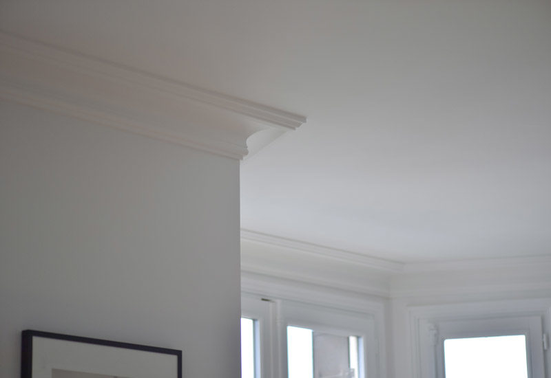 Production, reproduction and restoration of fibrous plaster cornices